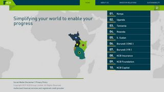KCB Group Limited – Welcome