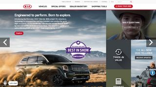 Kia: Cars, SUVs, Hybrids, Minivans & Crossovers