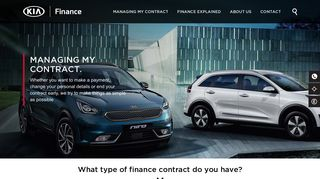 How to manage your contract online | Kia Finance