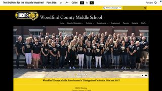 Student Resources - Woodford County Middle School