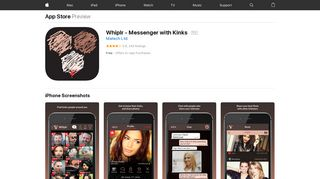 Whiplr - Messenger with Kinks on the App Store - iTunes - Apple