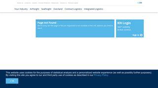 Kuehne + Nagel: E-Booking