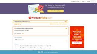 site:autotrader.com know hope plus - Wolfram Alpha