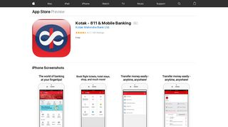 Kotak - 811 & Mobile Banking on the App Store - iTunes - Apple