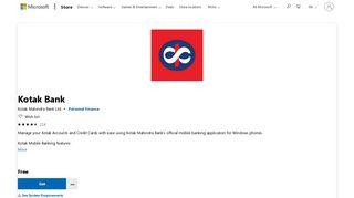Get Kotak Bank - Microsoft Store