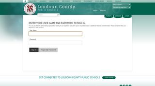 Sign In - Loudoun County Public Schools