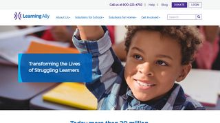 Learning Ally: Audio Books for Dyslexia & Learning Disabilities