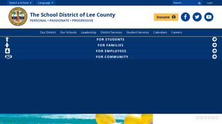 Lee County Schools: Home