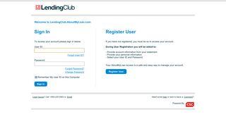 Lending Club AboutMyLoan