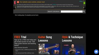 LickLibrary.com - Guitar Lessons & Tuition, Backing Tracks & DVDs