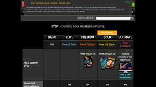 LickLibrary - Sign Up - Choose your membership type - Gold - Free ...