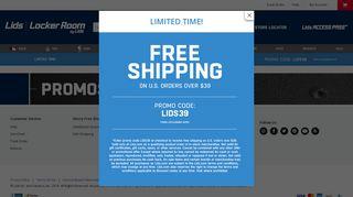 2019 Coupon Codes, In-Store Deals & Online Promos | lids.com