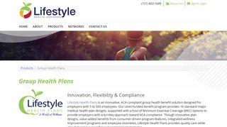 Group Health Plans | Lifestyle Health Advisors