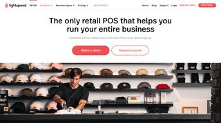 Retail POS   Lightspeed Point of Sale Software