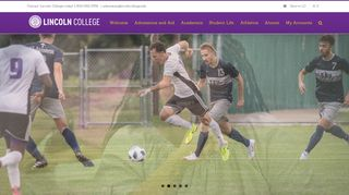 Lincoln College: Home