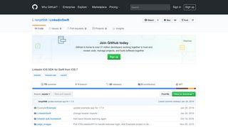 GitHub - tonyli508/LinkedinSwift: Linkedin IOS SDK for Swift from IOS 7