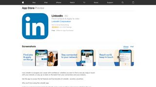 LinkedIn on the App Store - iTunes - Apple