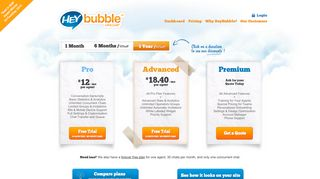 Heybubble Live Chat   Create an Account