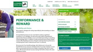 Performance & Reward - Lloyds Banking Group plc