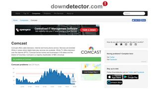 Comcast outage or service down? Current problems and outages ...
