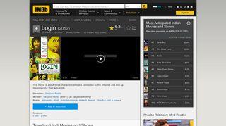Login (2012) - IMDb