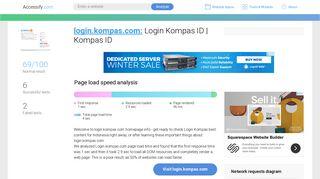Access login.kompas.com. Login Kompas ID | Kompas ID - Accessify