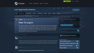 How To Log In :: Lost Saga North America General Discussions