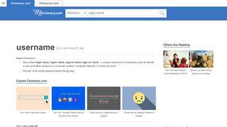 Login-name | Define Login-name at Dictionary.com