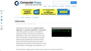 What is a Username? - Computer Hope
