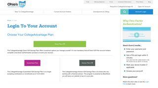 Account Login - Ohio Tuition Trust Authority