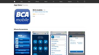 BCA mobile on the App Store - iTunes - Apple