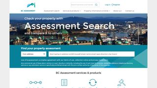 BC Assessment - Independent, uniform and efficient property ...