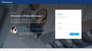 Log in | Teleperformance Portugal - Each Interaction Matters