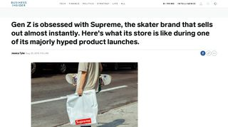 Supreme fall/winter drop: what it's like - Business Insider
