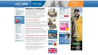 Lost Cousins - Putting Relatives In Touch