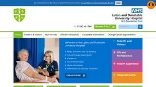 Luton and Dunstable University Hospital