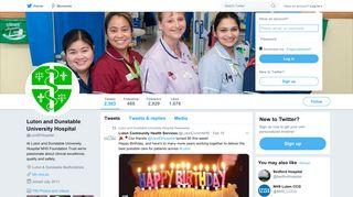Luton and Dunstable University Hospital (@LandDHospital) | Twitter