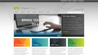 MakeMusic - Software to compose, practice, teach, and perform music.