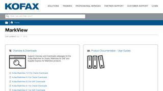MarkView - Kofax