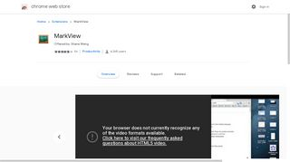 MarkView - Google Chrome