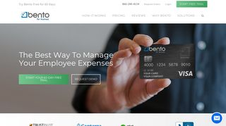 Bento for Business: Full-Featured Employee Expense Cards ...