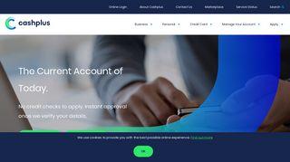Cashplus - Business Accounts, Personal Current Accounts, Debit ...