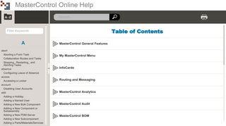 MasterControl Online Help - Quidel