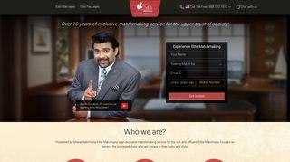 Elite Matrimony - Premium Matrimonial Site - Elite Matchmaking Service