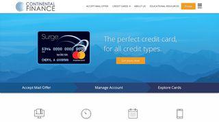 Continental Finance MasterCard