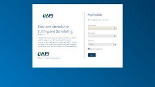 API Healthcare - Login
