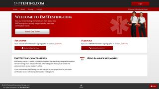 EMSTesting.com Home