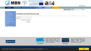 Member Login - Mediterranean Bank Network