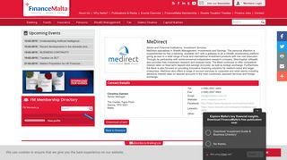 MeDirect - FinanceMalta