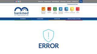 E-Services - Bankmed